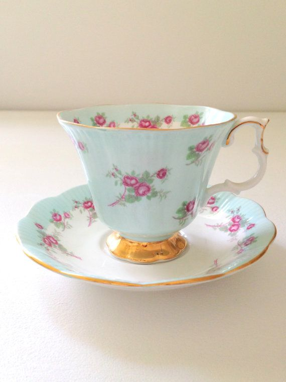 Vintage English Royal Albert Bone China Teacup by MariasFarmhouse
