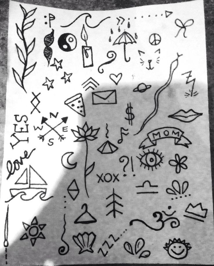 Stick And Poke Tattoo Simple Ideas