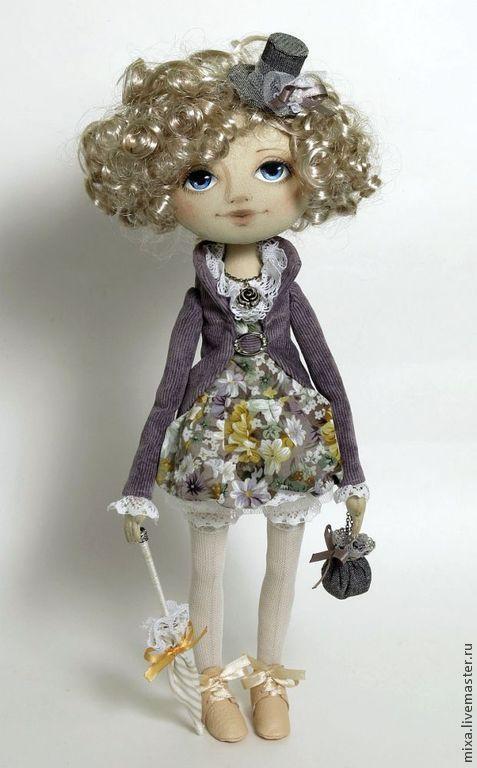 Купить Эмили-2 - кукла в подарок, кукла ручной работы, интерьерная кукла, коллекционная кукла