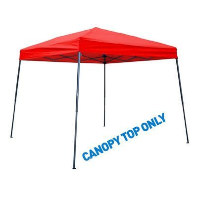 Trademark Innovations 8' x 8' Canopy Top Color: