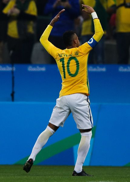 Neymar Photos Photos: Brazil vs Colombia Quarter Final: Men's Football…