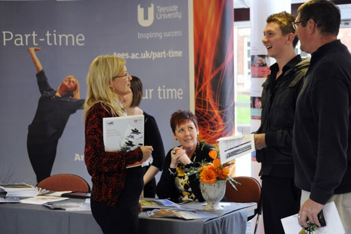 Teesside University part-time open day 2011 by teesside.university, via Flickr