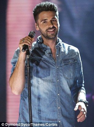 Tough love: Ben Haenow was also criticised for complaining about being ill