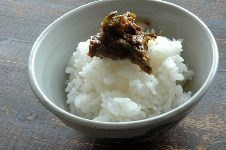 fukinotou miso (= miso relish with butterbur sprouts)