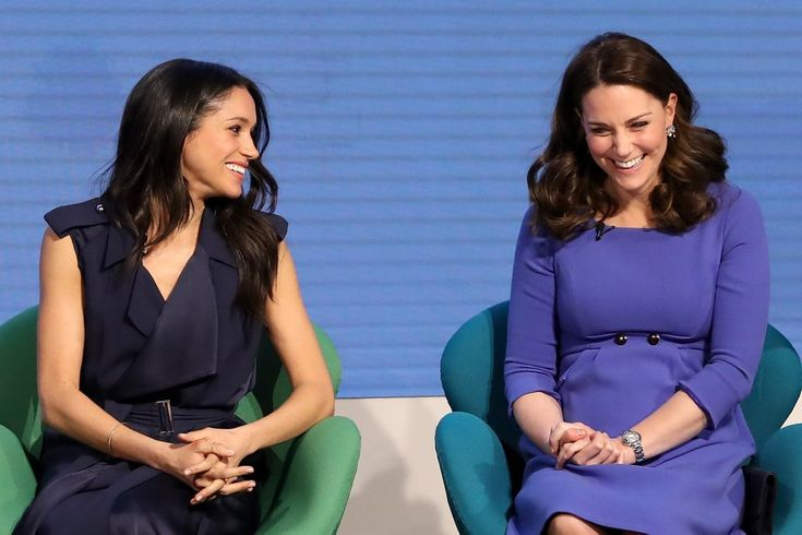 William, Kate, Harry, and Meghan Giggle Their Way Through Their First Onstage Appearance Together