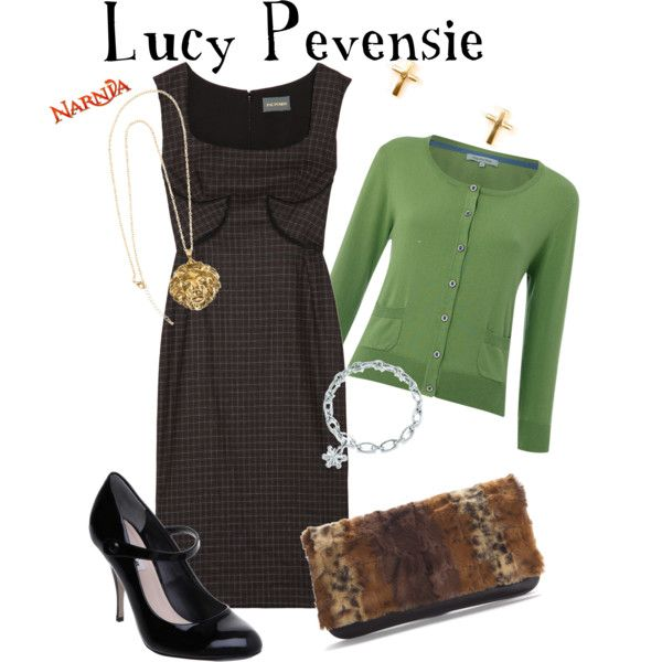 Lucy Pevensie - The Chronicles of Narnia, created by marybethschultz on Polyvore
