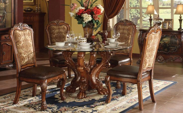 round formal dining room sets for 8   274 best Dining Sets images on Pinterest   Table settings ...