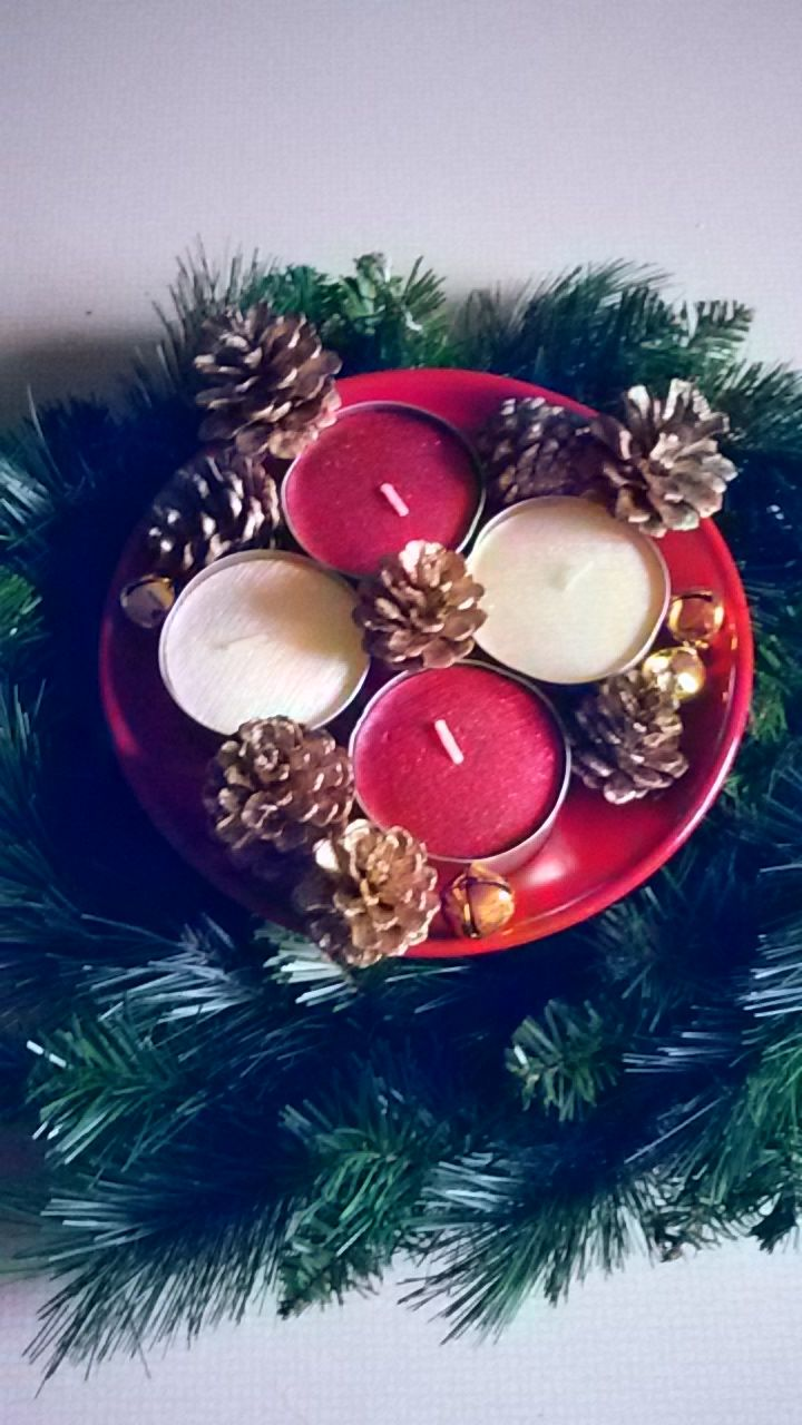 Easy and elegant diy advent candles :)
