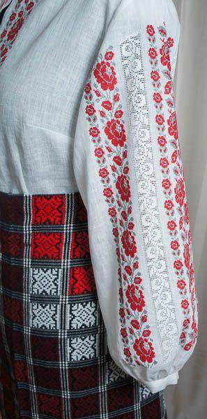 Квітка троянда - фрагмент-10 - Одяг - Український Сувенір