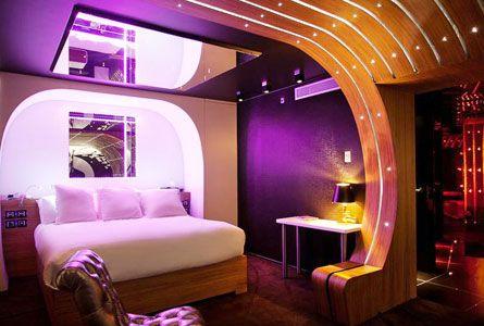 Seven Hotel in Paris, France – Reviews & Hotel Rates | Splendia - http://pinterest.com/splendia/