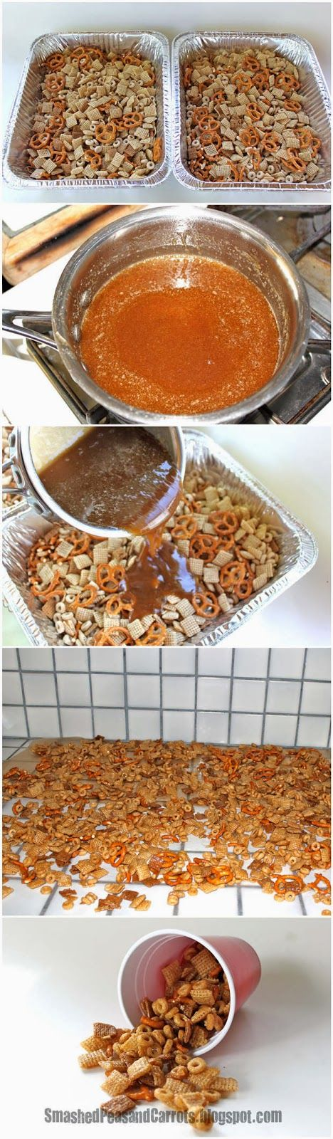 The Perfect Snack...Sweet Cereal Mix