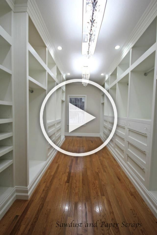 Master Closet With White Built In Wardrobes Sanded Ply There Aren T Any Exposed Edges As The Whole Thing Has A Faceframe The Base Is 2 6 As I Have 6 Basebo In 2020