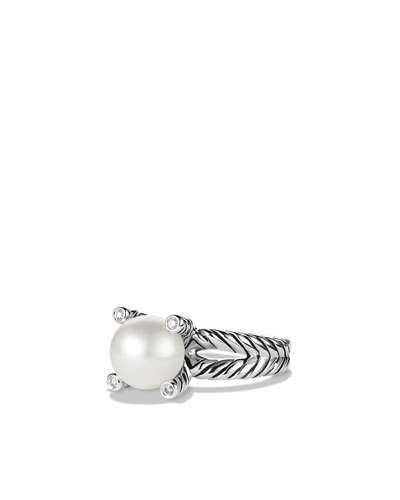 PEARL DIAM CABLE CUP RING