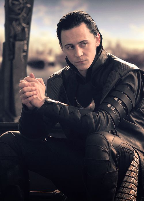 Loki oooohhhh emmmm geeeeeee the black leather!!! :D (I almost pinned this to my Desserts board! YUM!) <---- This.