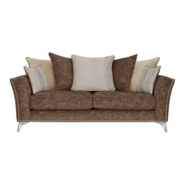 Studded 3 Seater Sofa
