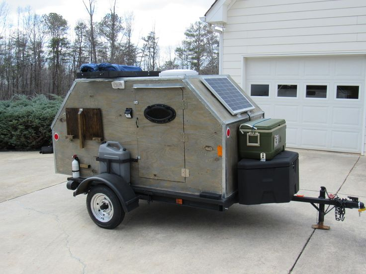 how to build a micro camper