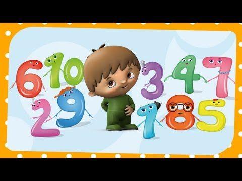 theme Liedje om te tellen - leer de getallen 1 tot en met 10 kennen met Charlie & the Numbers - YouTube