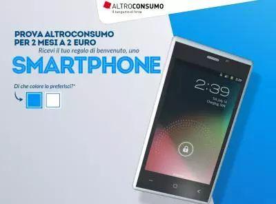 Prova AltroConsumo: ricevi smartphone gratis