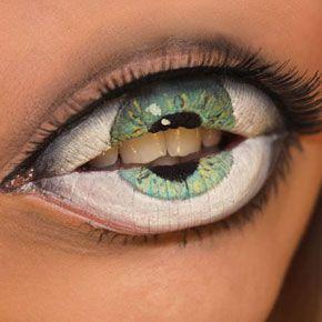 Freaky Lip Art by Sandra Holmbom