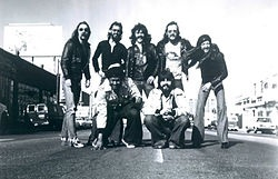 The Doobie Brothers - 1976 with the addition of Michael McDonald