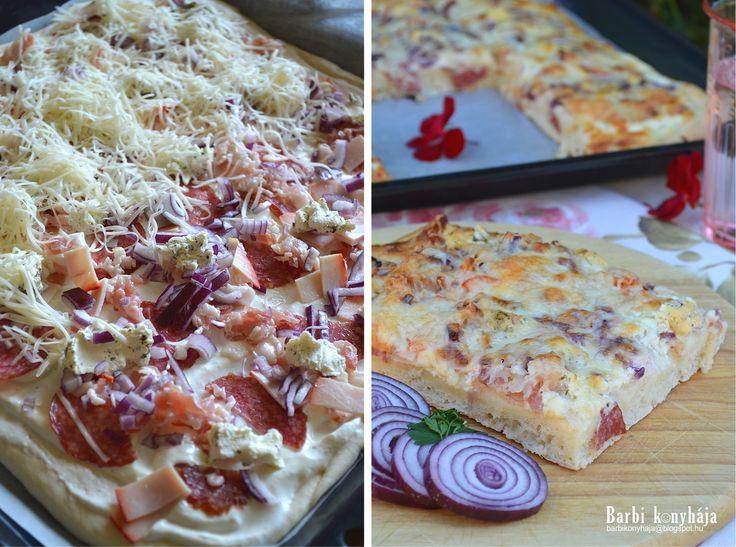 Annyi elég lesz, hogy nagyon szeretjük? :)) Szerintem vetekszik a pizzával, de hát úgy is nevezik, hogy a magyarok pizzája. Van aki Töki...