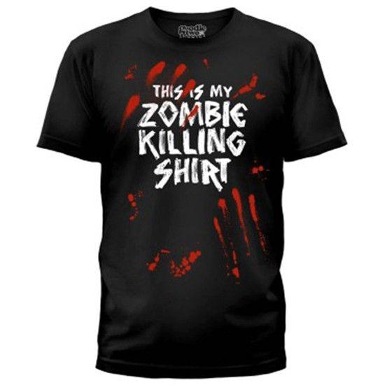 """Men's """"Zombie Killer"""" Tee by Goodie Two Sleeves #InkedShop"""