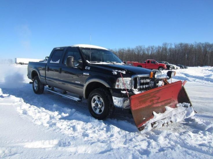 2005 Ford F250 Pickup Truck With The Boss 8 2 V