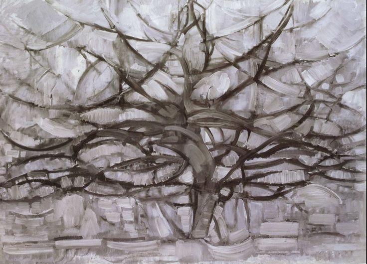 Piet Mondrian - Albero grigio - 1912