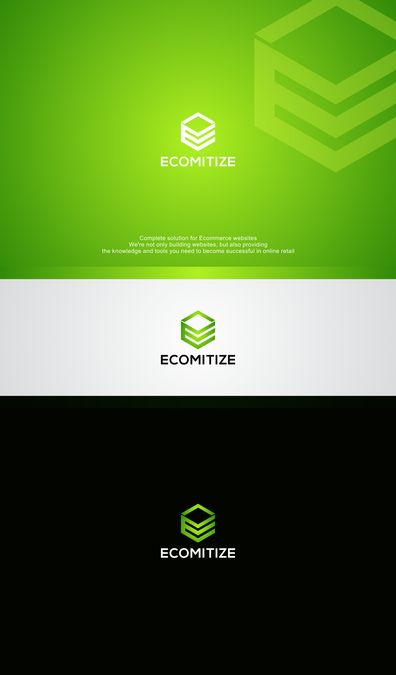 Create a sleek logo for ecommerce software