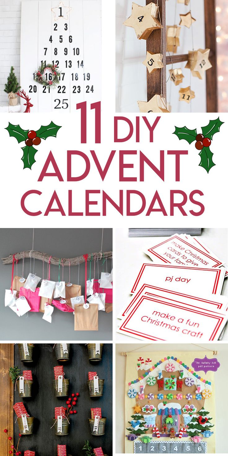 Unique Advent Calendar Ideas : Unique diy advent calendar ideas on pinterest