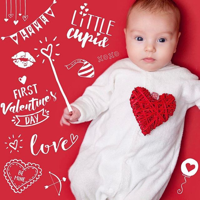 Pin On Baby S First Valentine S Day