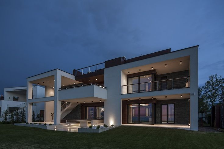 facade Project Balatonboglár 4 Massive Family Villa on the Southern Shore of Lake Balaton, Hungary