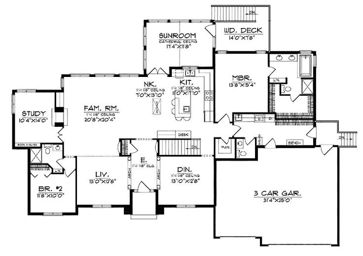 The 31 best images about log homes floorplans on pinterest for Log home floor plans with garage and basement