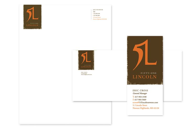 51 Lincoln Restaurant Branding - ElephantMark