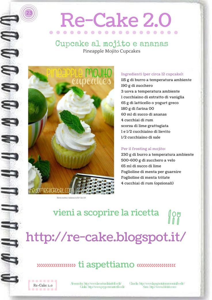 Pinapple Mojito Cupcakes RE CAKE 2.0