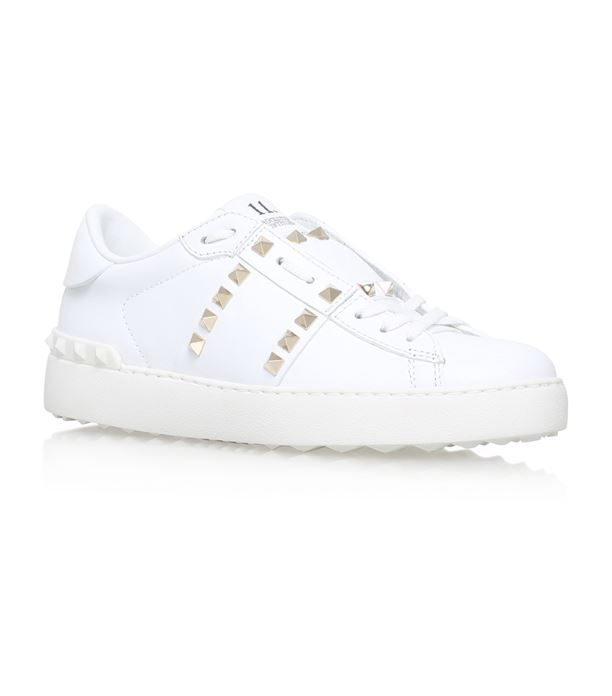 Valentino Garavani Leather Rockstud Sneakers available to buy at Harrods.Shop valentino online and earn Rewards points.