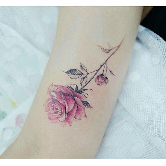 Zoey Tattoo Ideas: Tatuajes De Rosas, Tatuajes
