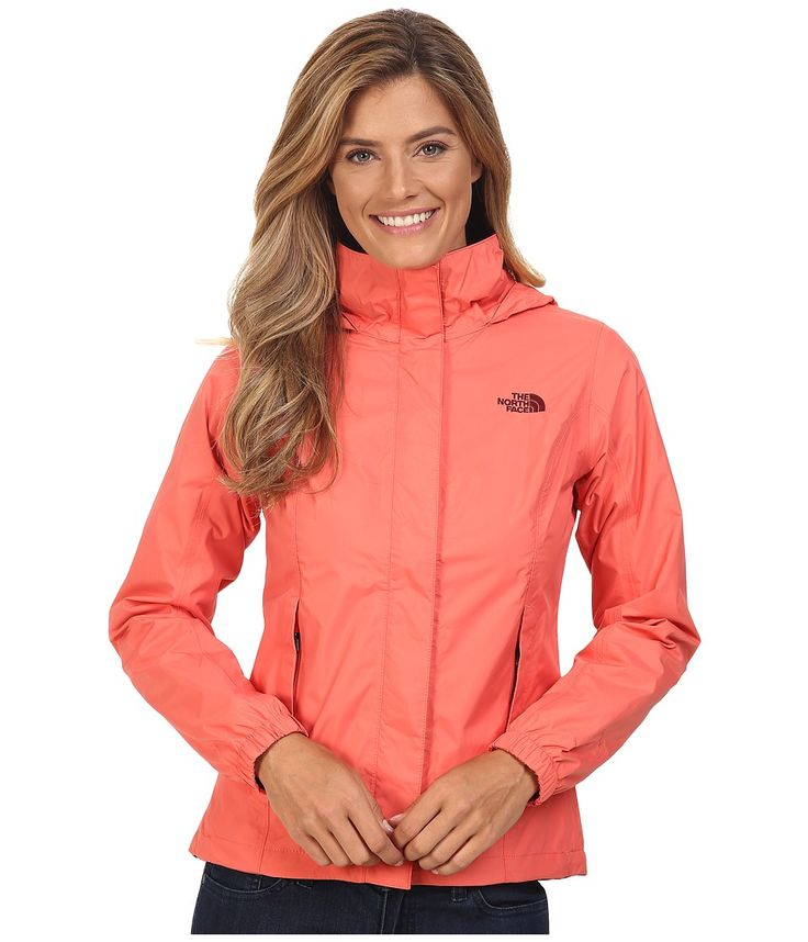 THE NORTH FACE THE NORTH FACE - RESOLVE JACKET (SPICED CORAL) WOMEN'S COAT. #thenorthface #cloth #