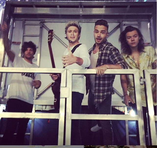 One Direction Fans Concert Sign Disses Naughty Boy: 1D Guys Hilarious Reaction | Cambio