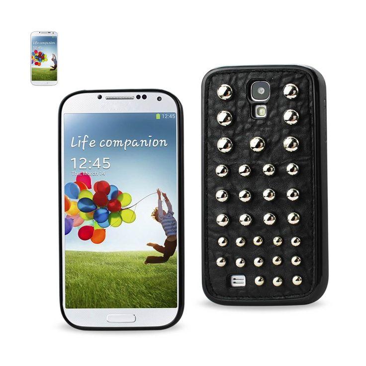 Reiko Samsung Galaxy S4 Sphere Studded Case Black | MaxStrata