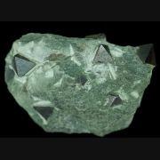 Magnetite  Salvere level - Brosso mine - Cálea - Léssolo - Canavese distr. - Torino prov. - Piedmont - Italy