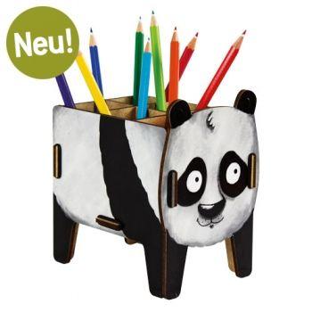 Werkhaus Shop - Stiftebox Vierbeiner - Panda