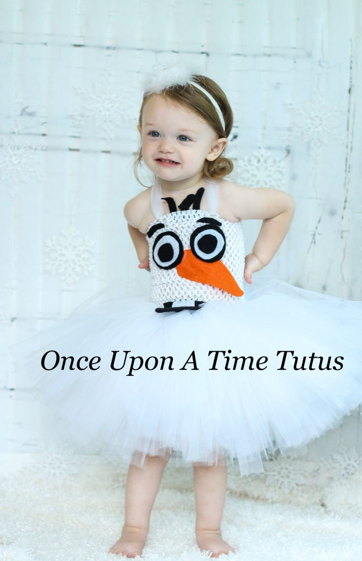 Olaf Inspired Tutu Dress  Girls Size Newborn by OnceUponATimeTuTus, $34.99