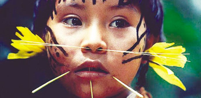 Amazon rainforest tribe at centre of new cultural storm | ~ AMAZON ...