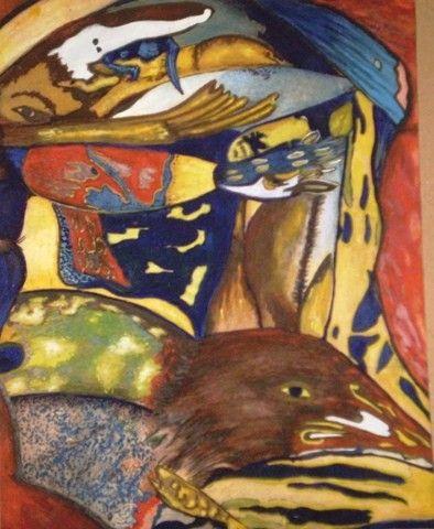 NESTOR CHAVEZ - SERIE MIRADAS  Arte cubano