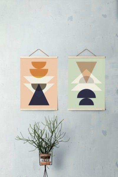 Wanddecoratie collectie 2014 Ferm Living.