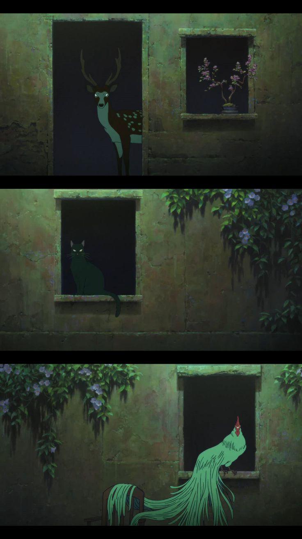 Bakemono no ko (Le Garçon & la Bête), Mamoru Hosoda, 2015                                                                                                                                                                                 Plus