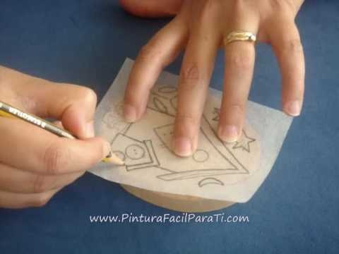 tutorial pintura country casitas pintura facil para ticomwmv varias tcnicas pinterest pintura country and decoupage