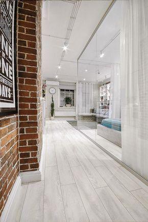 Дизайн интерьера однокомнатной квартиры-студии (20 кв м)