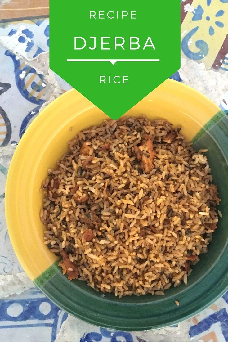 Tunisian Djerba Rice Recipe   Make this traditional Tunisian recipe at home!